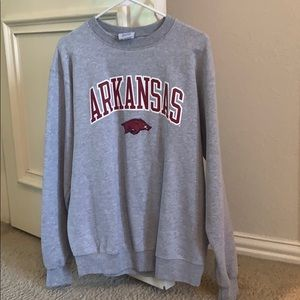 University of Arkansas Champion sweatshirt